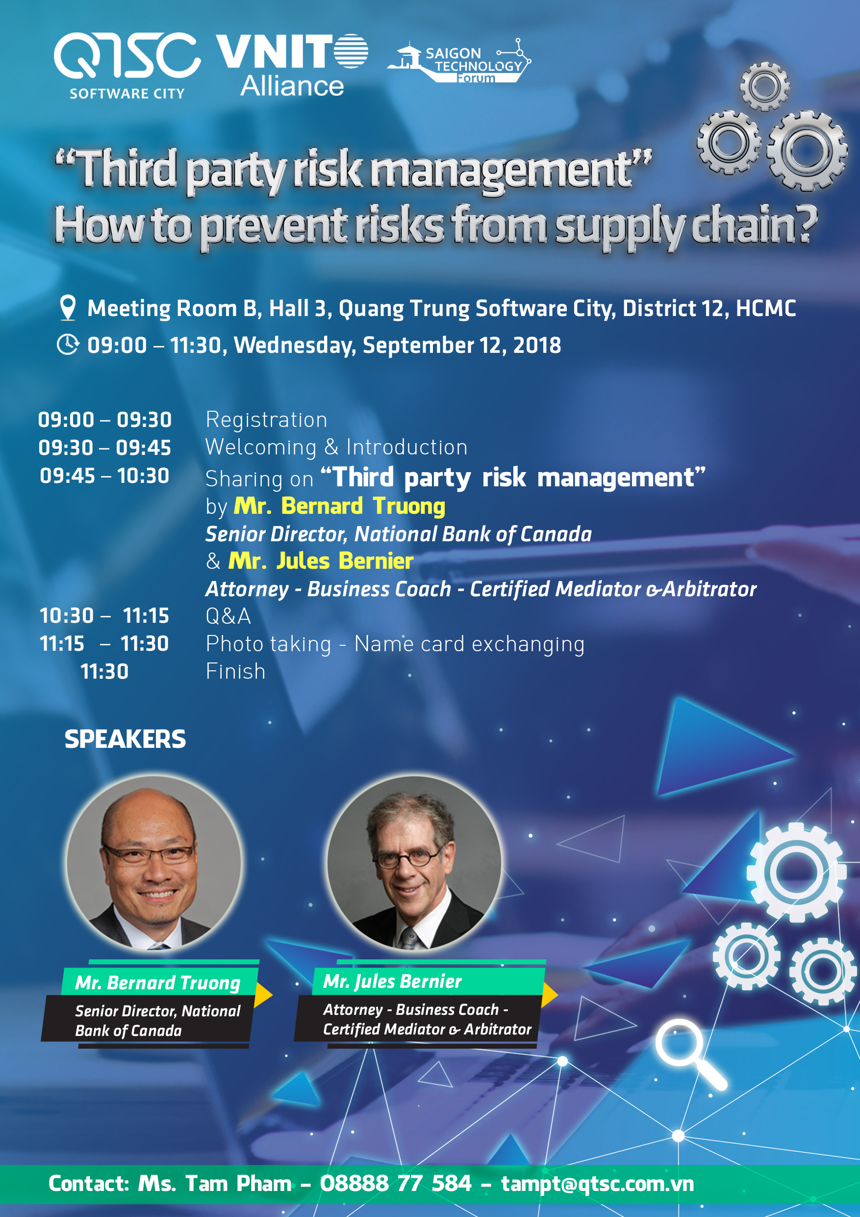Invitation To Seminar Third Party Risk Management How To Prevent